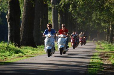 Scootertocht door Apeldoorn