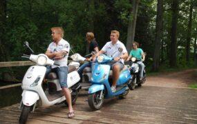 Scootertocht door Kampen