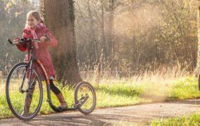 QR Speurtocht per kickbike