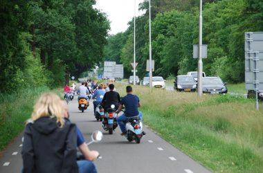 Scooter rijden & Watermolen Singraven