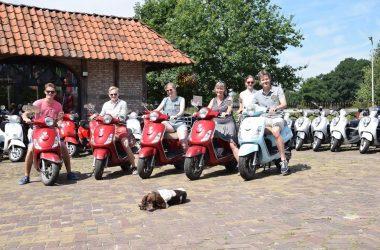 Scooter rijden in Overijssel en Workshop schilderen