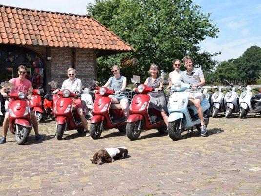 Scooteruitje vanaf Actief Twente
