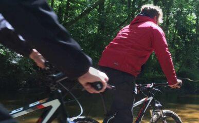 Kanovaren en mountainbiken Lutterzand