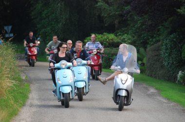 Verhuur op locatie – Scooters 25 Km/h