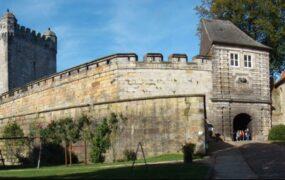 Bad Bentheim, het historische stadje over de grens