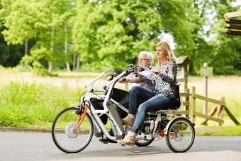 duo gehandicapten fietsen