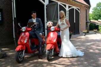scooter huwelijk
