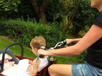 Maxi-Cosi bevestiging of zitbankje in een bakfiets