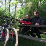 mountainbike vriendenweekend