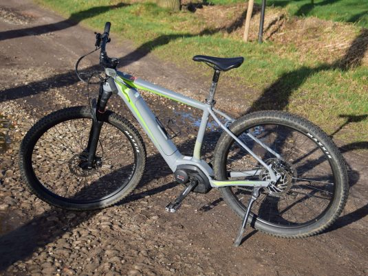 Nieuw! Onze E-mountainbike
