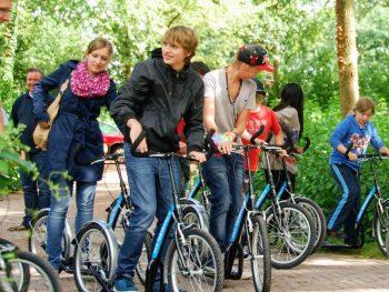 Kickbiken vanaf Actief Twente