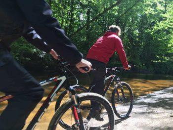 Kanovaren & mountainbiken in het Lutterzand