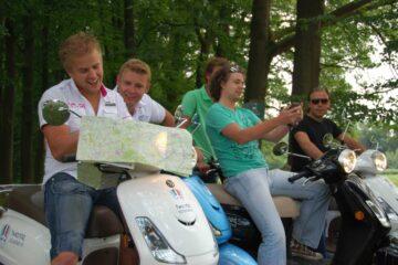QR Scooter Rally Twente