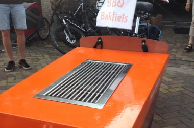 Barbecue bakfiets