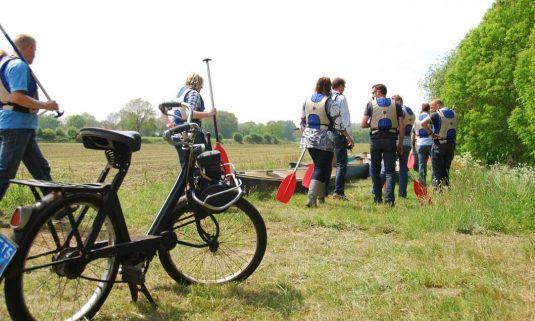 Dagprogramma 2: Solex & kano & fiets!