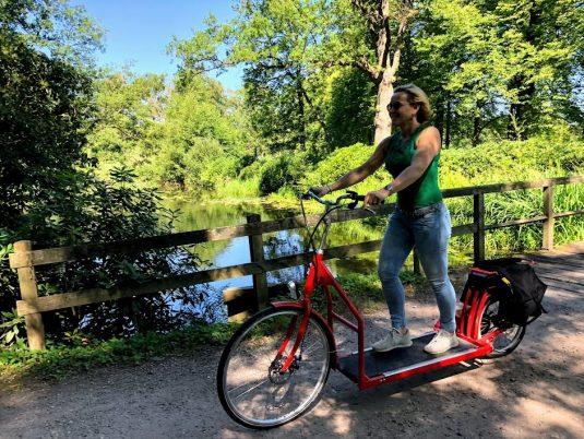 Per kickbike of loopfiets door de leukste steden!