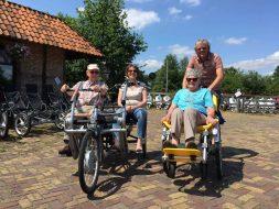 Mindervalide fietsen