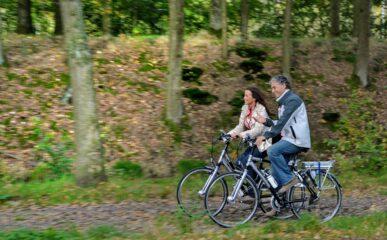 Dinertocht met fiets