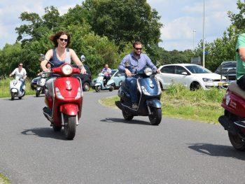 Scooter rijden vanaf Recreatiepark 'n Kaps