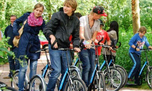 Meest geboekt: Geocaching per kickbike