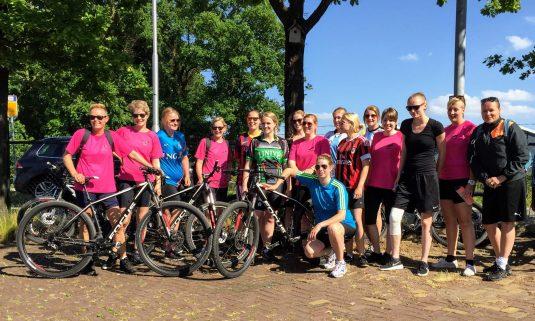Mountainbike clinic bij Actief Twente