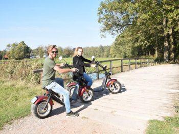 E-Chopper rijden vanaf Twente Tipi (vanaf 10 personen)
