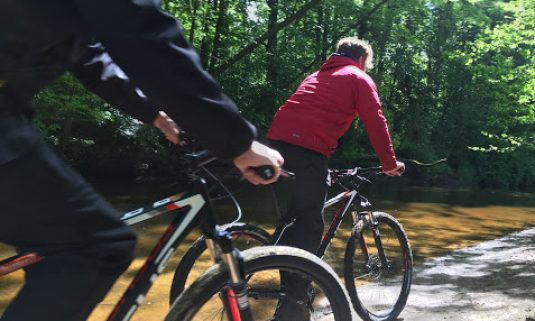 Mountainbike tocht met GPS vanaf Hotel Erve Hulsbeek