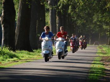 Scooter rijden vanaf Twente Tipi (vanaf 10 personen)