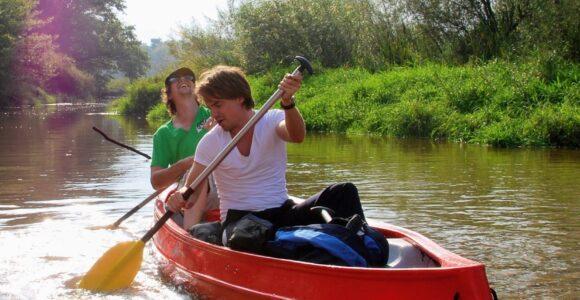 Yessss! We mogen weer kanovaren op de Dinkel!!