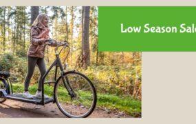Low Season Sale: de Elektrische loopfiets