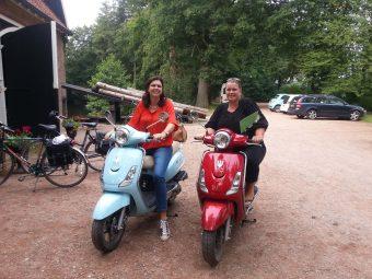 scooter uitje voor 2 meivakantie