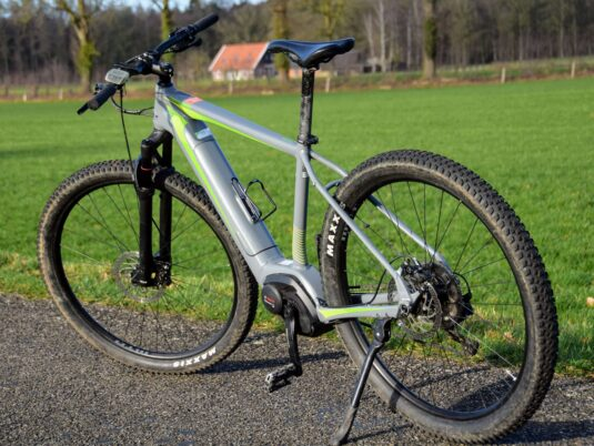 Check onze e-mountainbike!