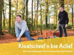 Klootschiet kit Actief Twente