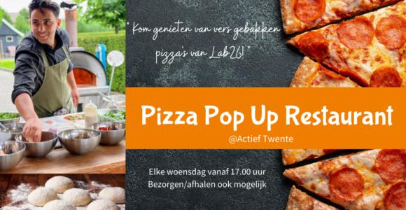 Elke woensdag: Pizza-Pop-Up restaurant!