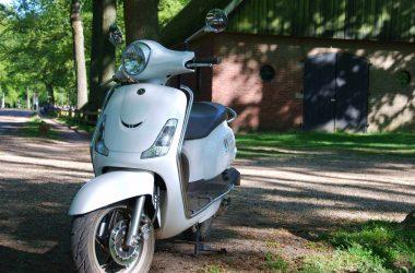 Italiaans scooter uitje