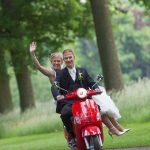 trouwvervoer huren scooter