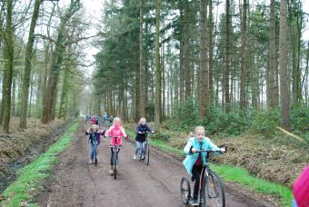 Kickbiketocht Bad bentheim