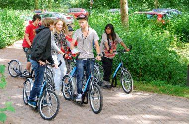 Kickbike Speurtocht over Landgoed Singraven
